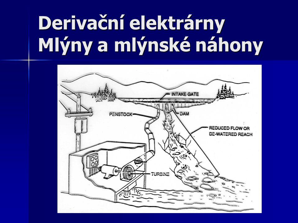 Derivační vers. klasická elektrárna