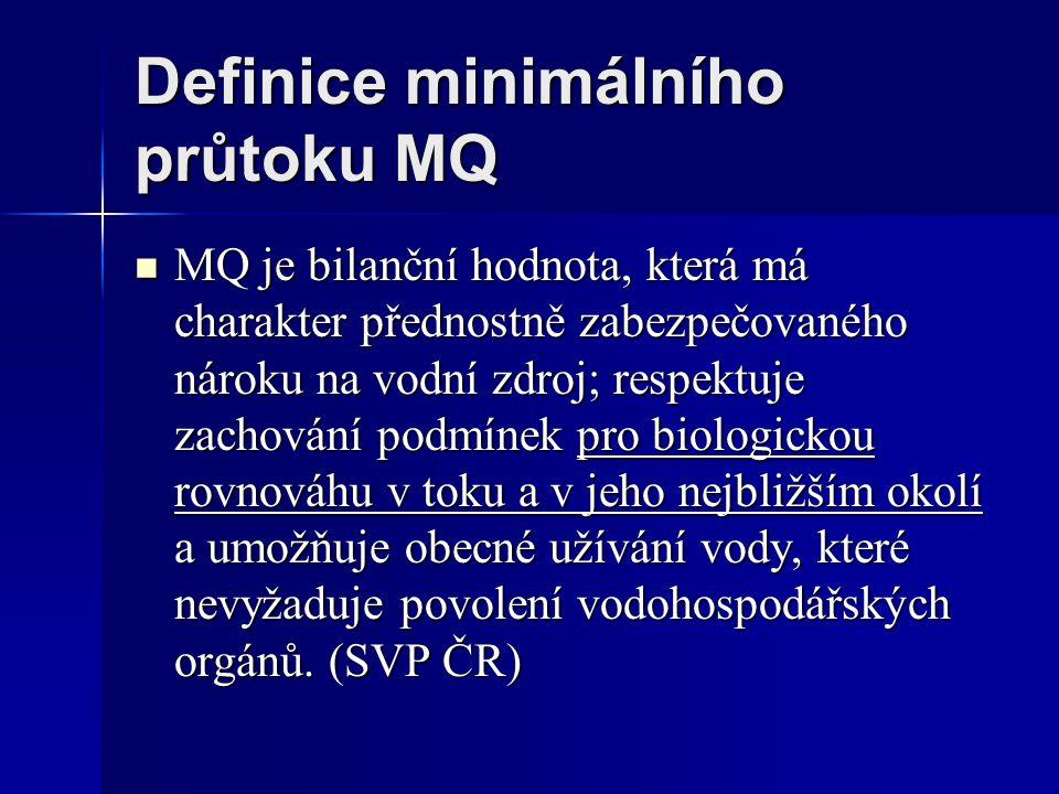 Bernhard Statzner 1990 Základem posouzení musí být morfologie dna.