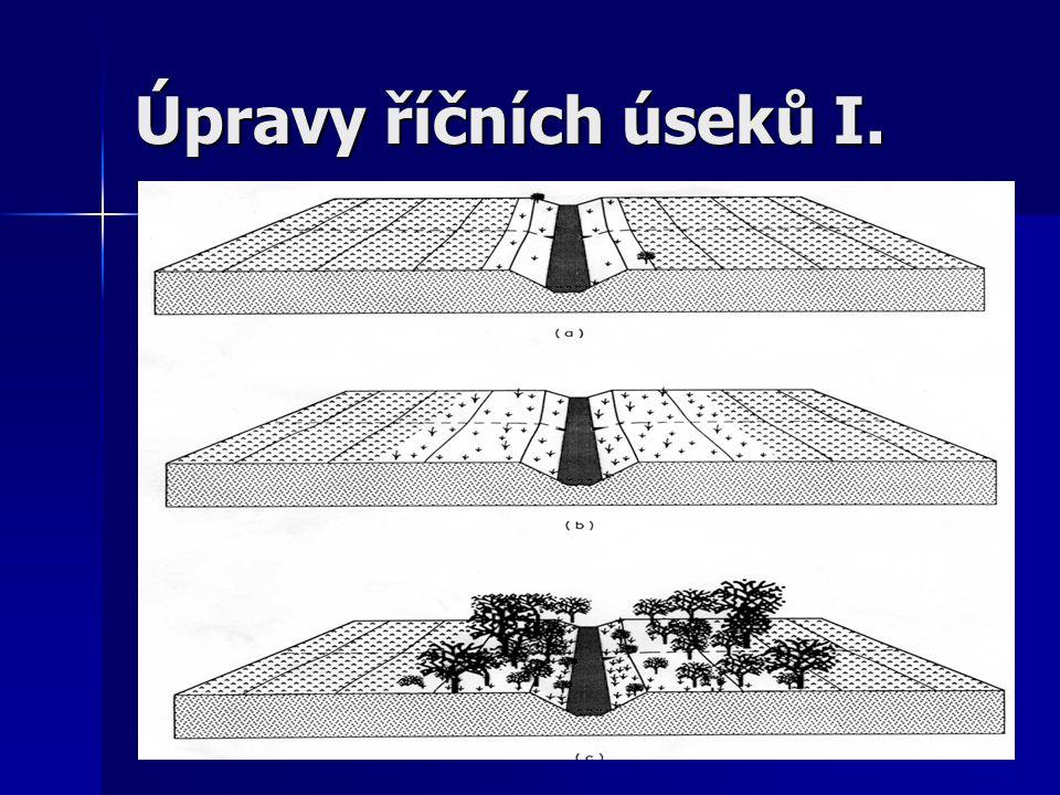 Úpravy říčních úseků II.