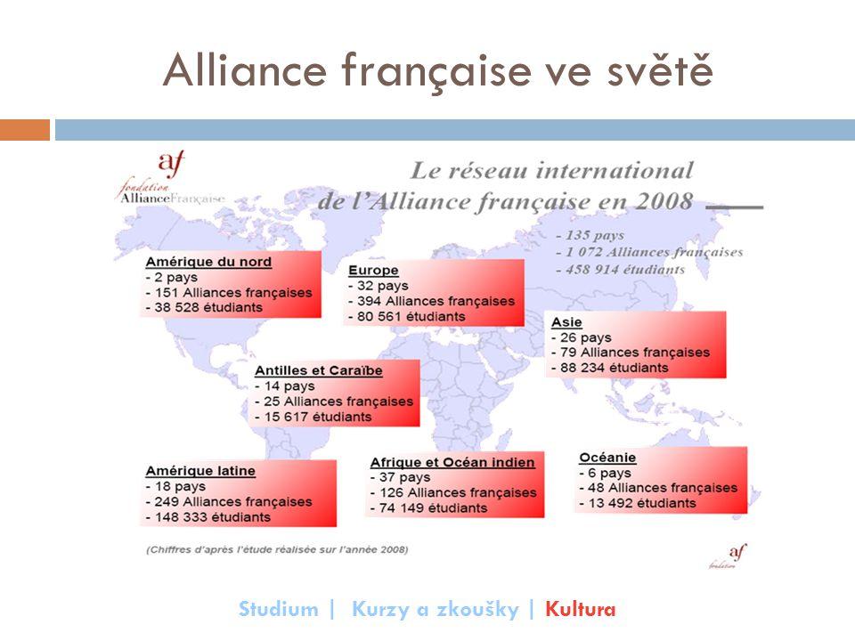 Alliance française ve světě Studium | Kurzy a zkoušky | Kultura