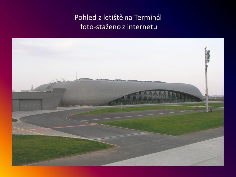 Odbavovací terminál letiště Brno-Tuřany. Autor projektu-Petr Parolek.