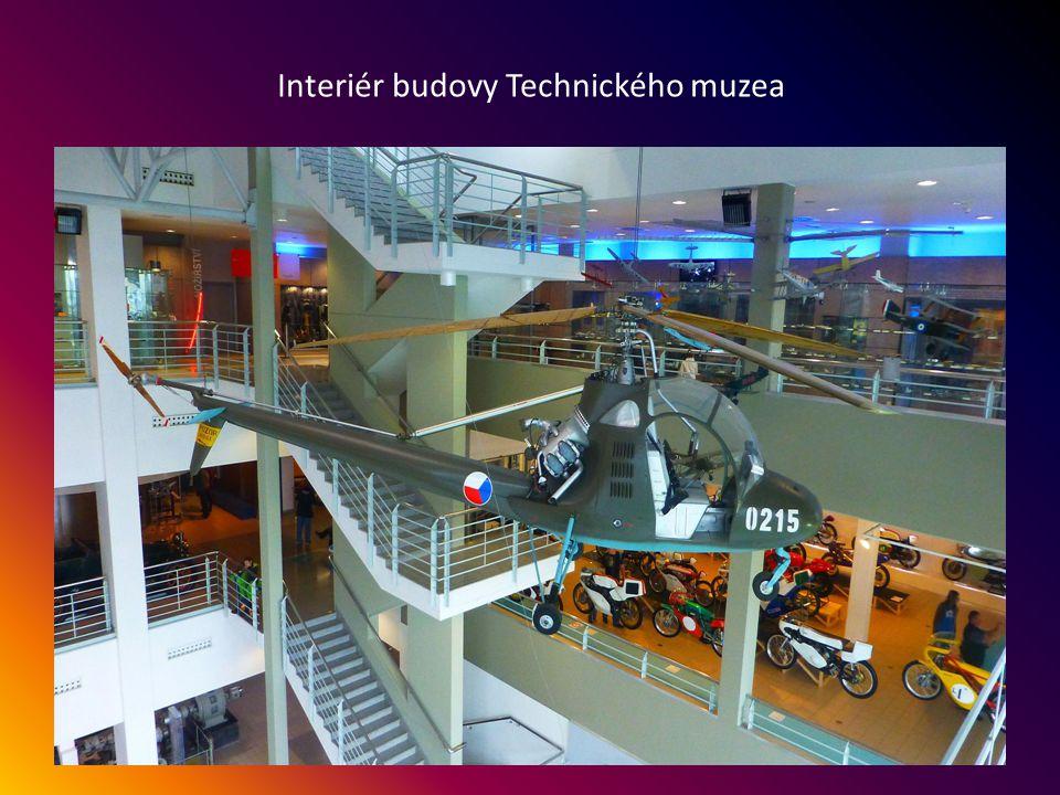 Nová budova Technického muzea - ulice Purkyňova 105, otevření v r.