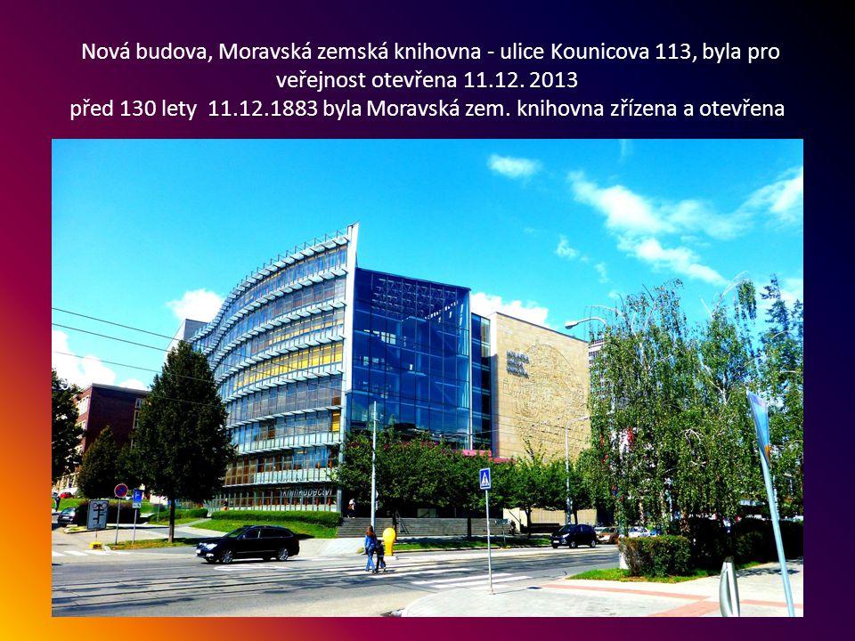 Zajímavá budova na souběhu ulic Nové sady a Hybešova, postaveno v roce 2011