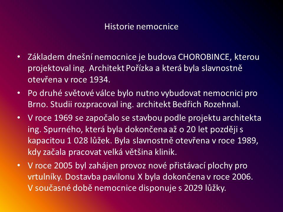 Fakultní nemocnice, Brno-Bohunice, ulice Jihlavská 20