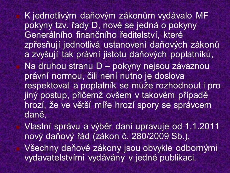 Další užitečné zákony Zákon č.262/2006 Sb., zákoník práce, Zákon č.