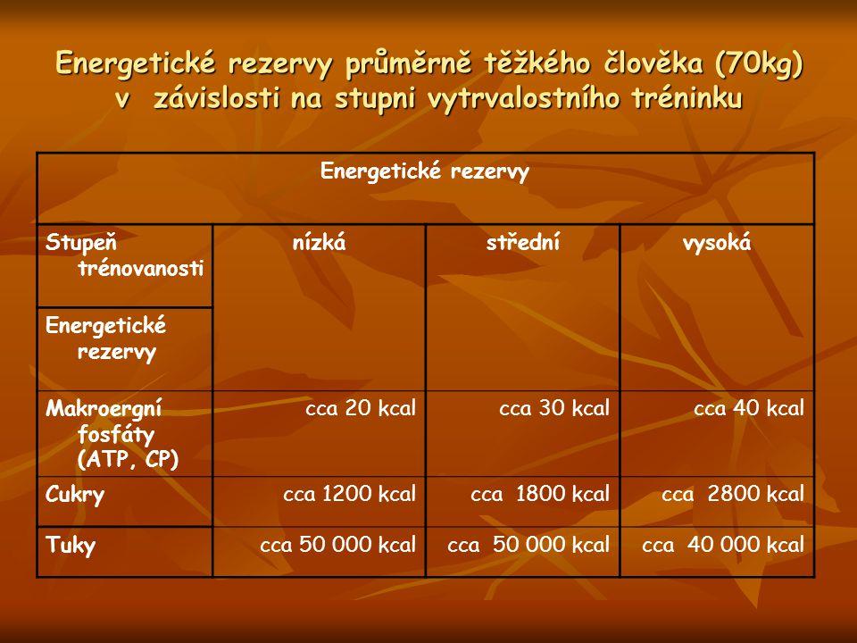 Navýšení glykogenových zásob u veslařů (4 týdenní trénink, 10/5 g sacharidů/kg, 2 g B/kg, trénink 65 min.