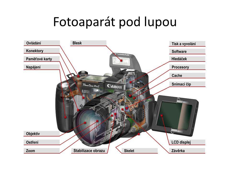 6 MPix fotoaparát má sice 6 milionů pixelů na senzoru, ale pouze černobílých, tedy neschopných vidět barvu.