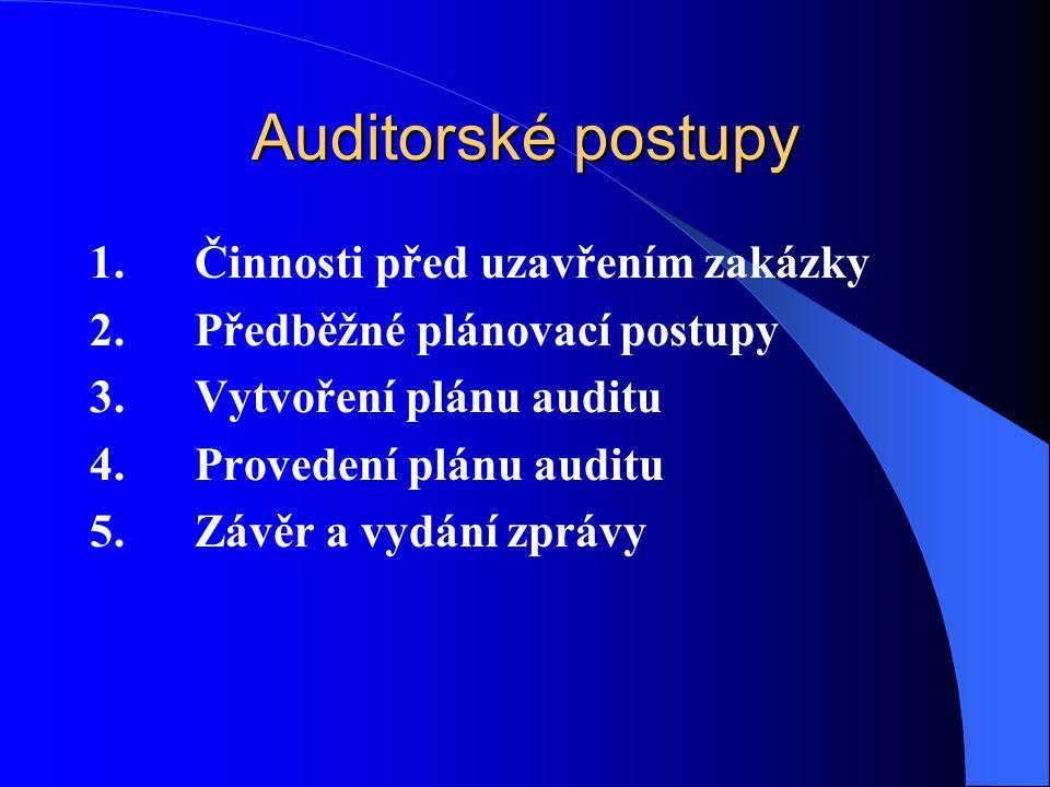 Důkazní informace jsou všechny informace, které auditor použije, aby dospěl k závěrům, z nichž bude vycházet jeho výrok auditora Základními požadavky na důkazní informace jsou: dostatečnost vhodnost spolehlivost