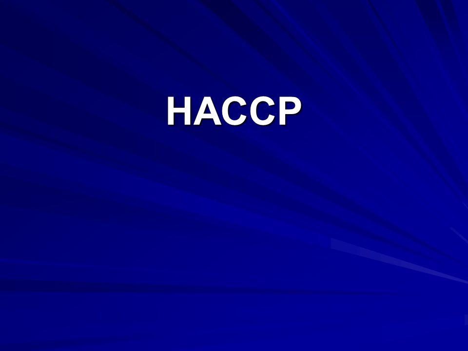 H – Hazard A – Analysis C – Critical C – Control P – Points Systém analýzy rizika a stanovení kontrolních bodů ve výrobě
