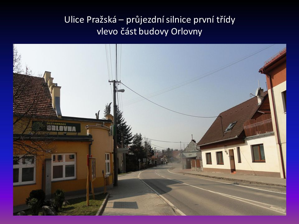 Ulice Hoštická;