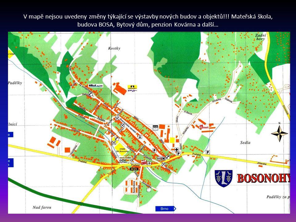 … Brno má 29 městských částí a jedna z nich jsou Bosonohy. Městská část leží jihozápadně a dle údajů z 6. 1. 2012 má 2450 obyvatel Historie obce s jej