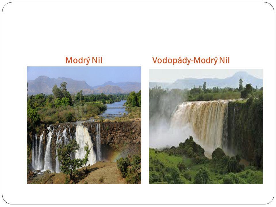 Modrý NilVodopády-Modrý Nil