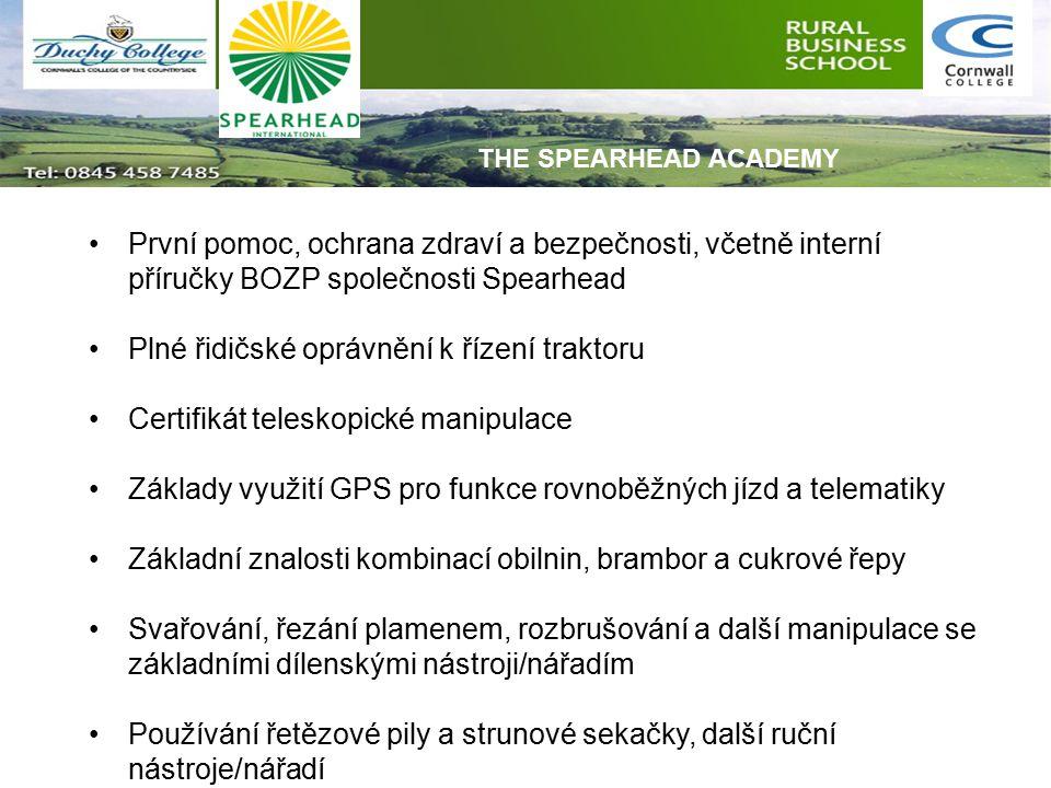 Základní dovednosti práce s hospodářskými zvířaty Zaměření na základní jazykové schopnosti / kulturní povědomí o střední a východní Evropě pro anglické učně.