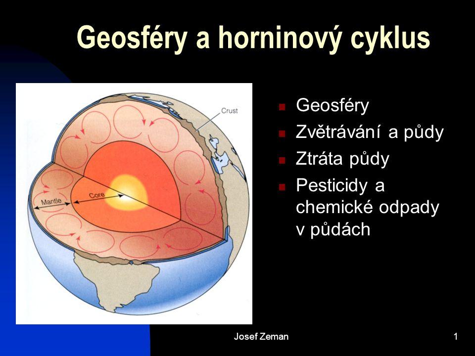 Josef Zeman2 Geosféry a horninový cyklus
