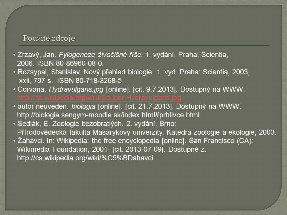 Zrzavý, Jan. Fylogeneze živočišné říše. 1. vydání.