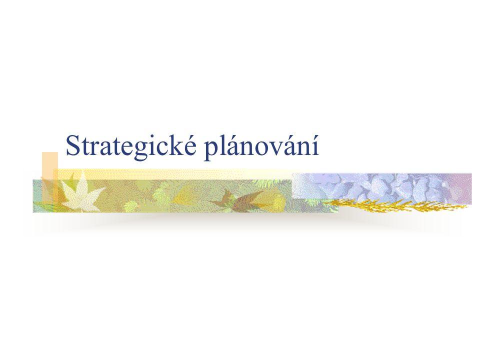 Strategické plánování