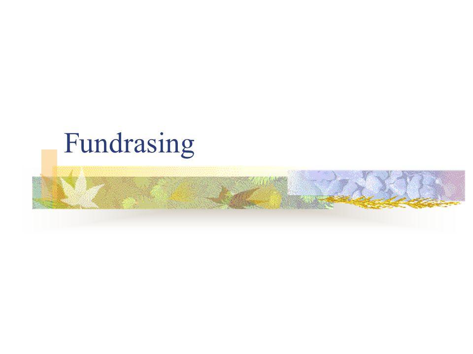 Fundrasing