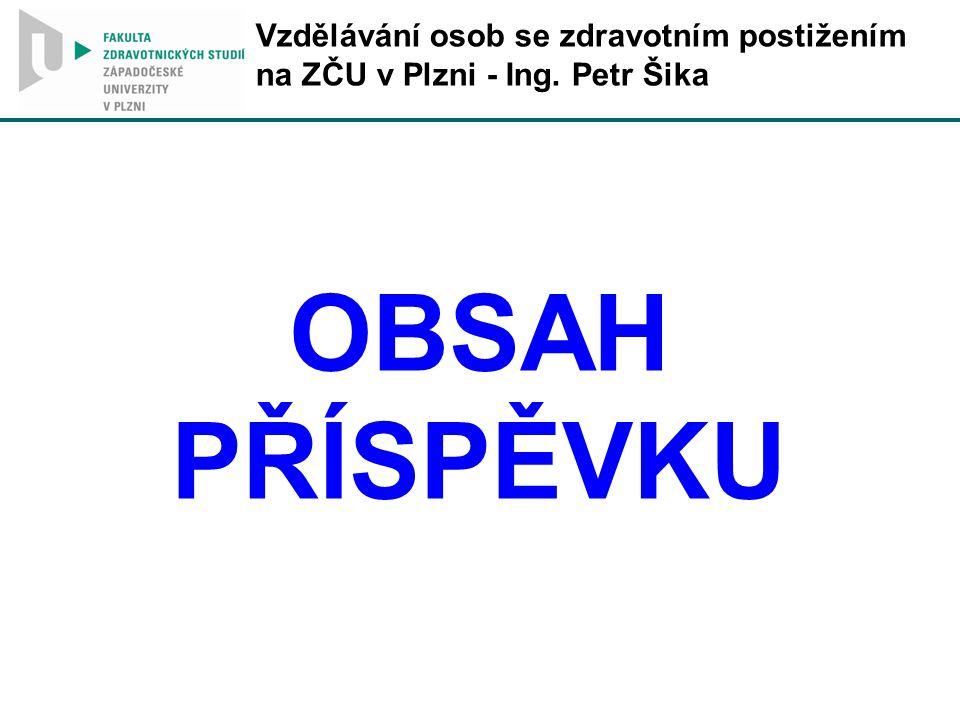 OBSAH PŘÍSPĚVKU