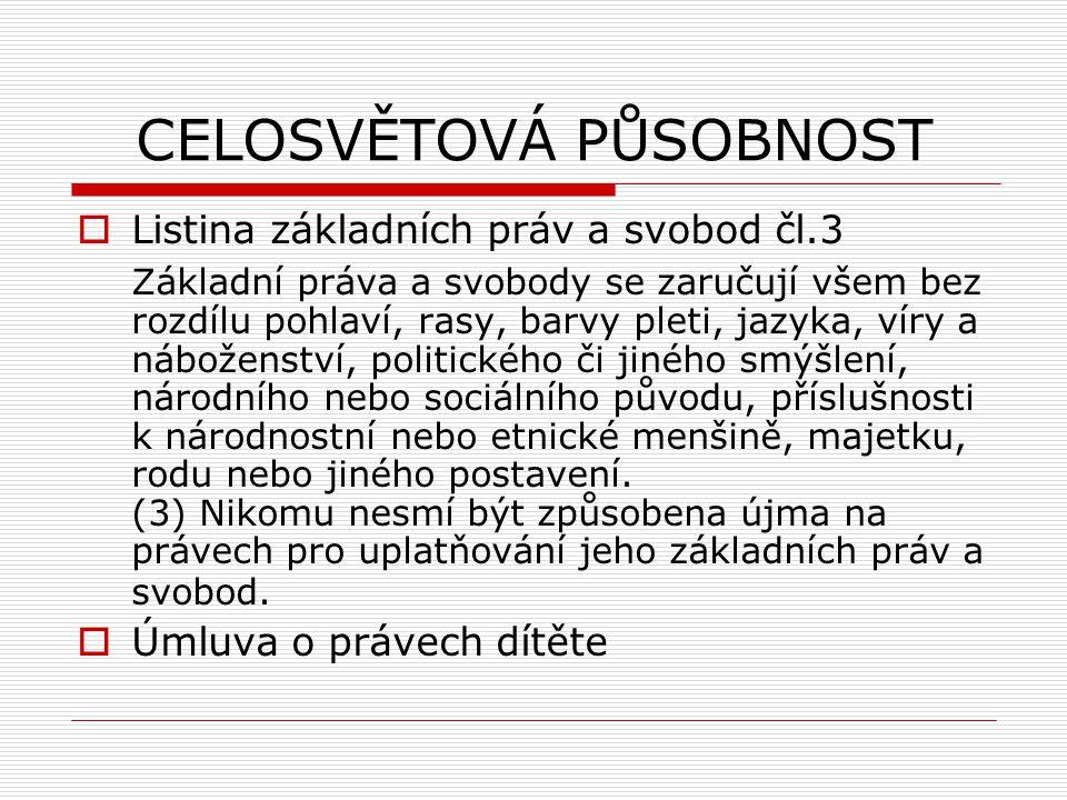 EVROPSKÉ DOKUMENTY usnesen rady z 31.