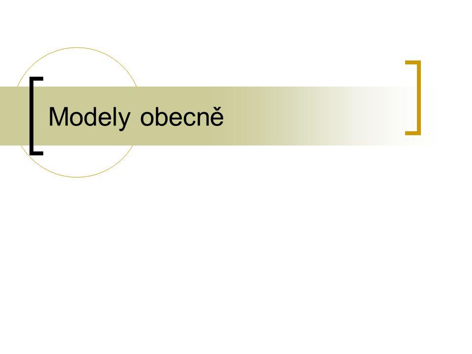 Modely obecně