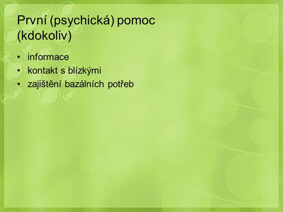 povinný specializační kurz v klinické psychologii (min.