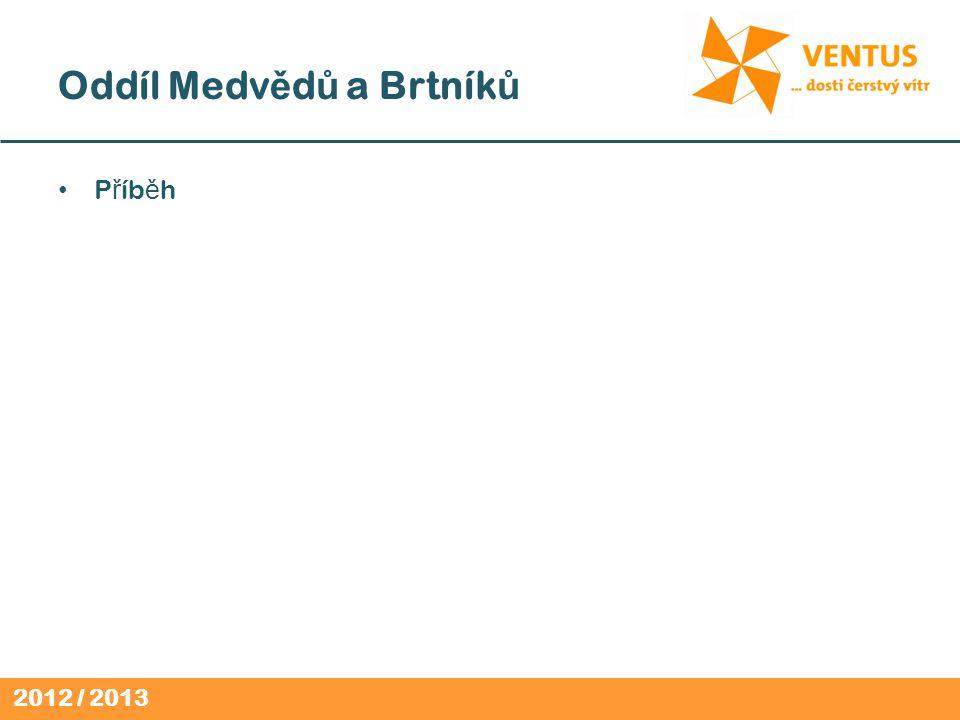 2012 / 2013 Oddíl Medv ě d ů a Brtník ů P ř íb ě h