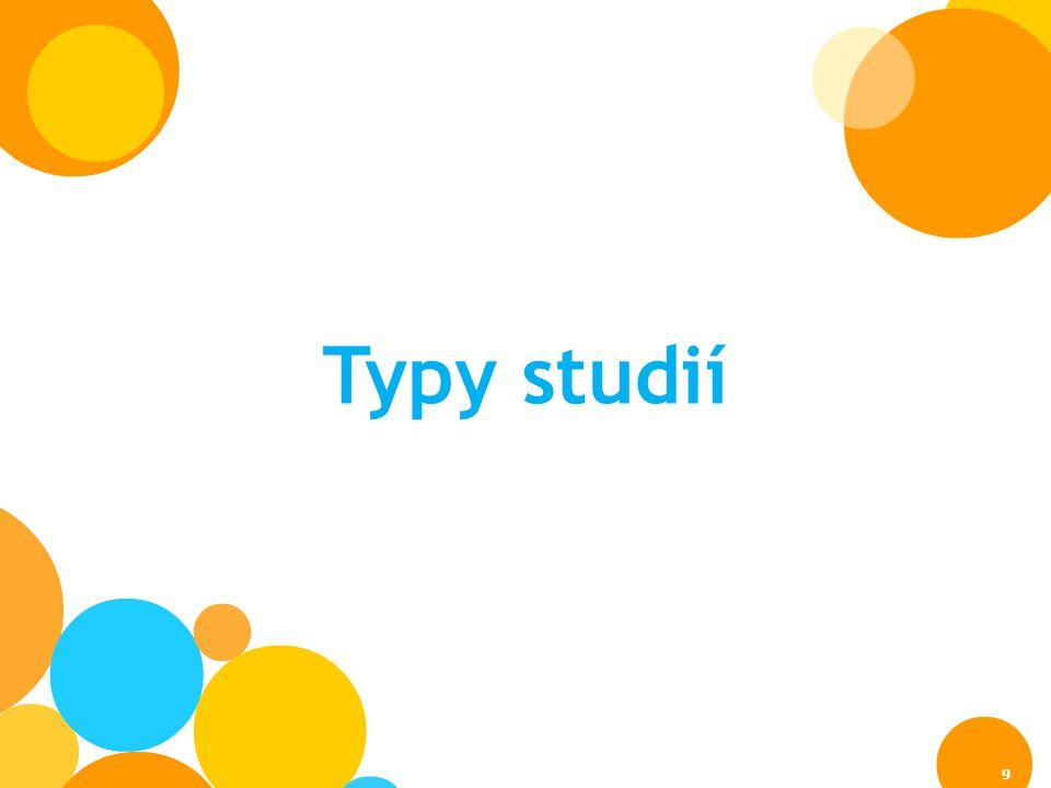 Typy studií 9