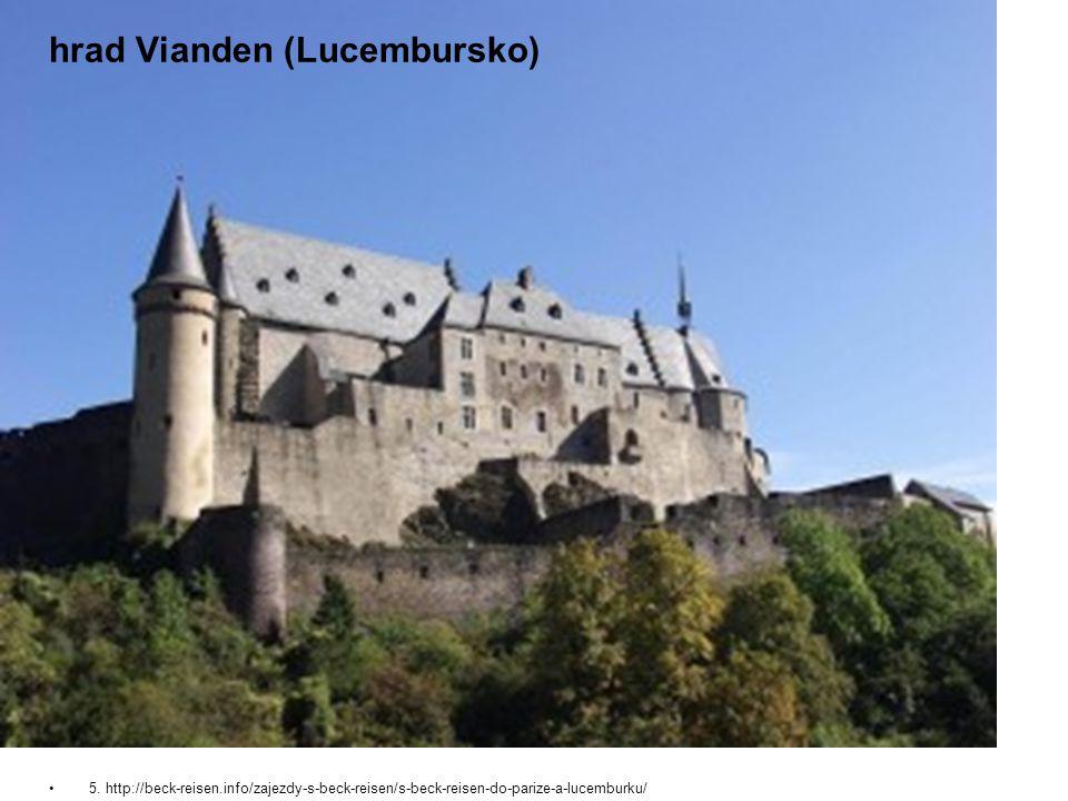 hrad Vianden (Lucembursko) 5.
