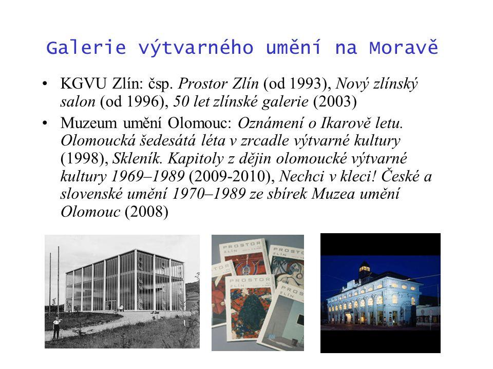 Galerie výtvarného umění na Moravě KGVU Zlín: čsp.