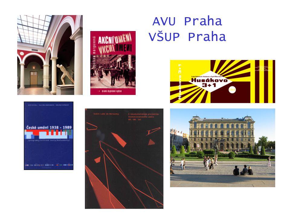 AVU Praha VŠUP Praha