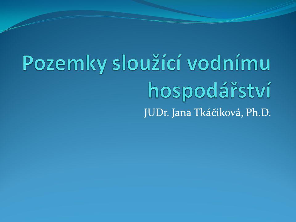 Prameny právní úpravy Zákon č.254/2001 Sb., o vodách Zákon č.
