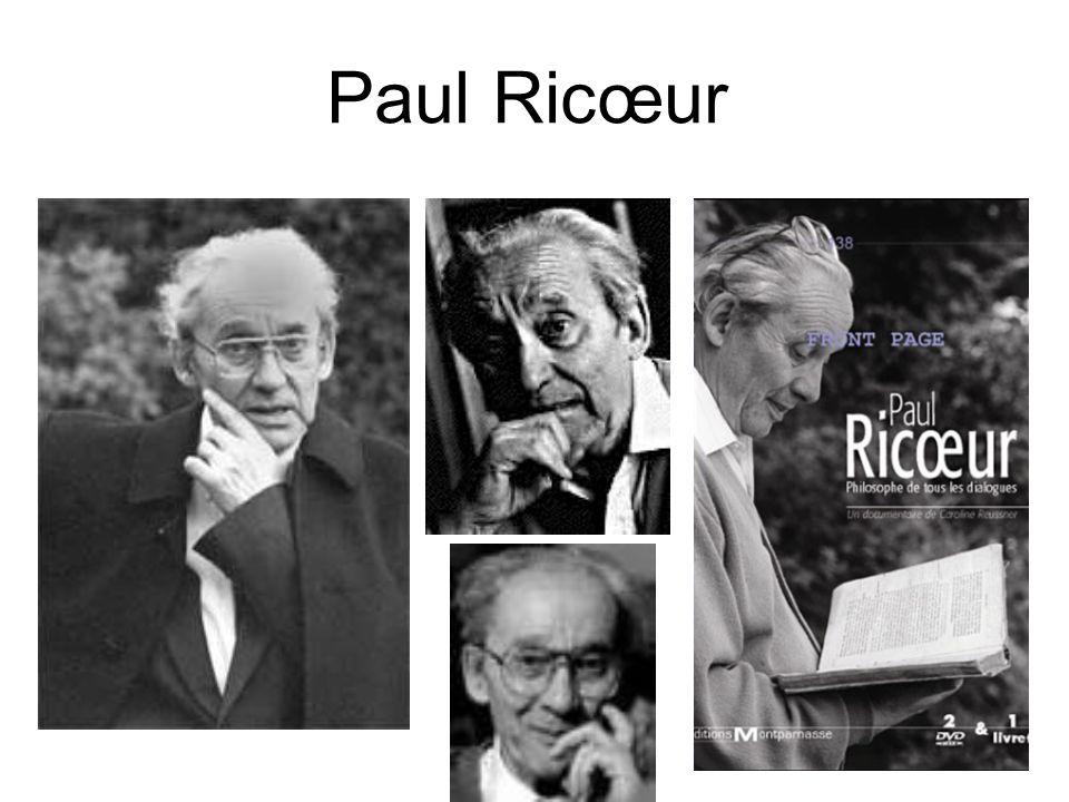 Paul Ric œ ur