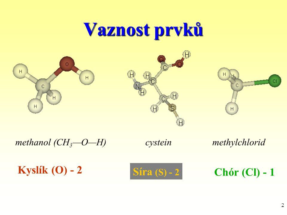 13 Nenasycené uhlovodíky (alkeny) alkeny obsahují dvojné vazby alkadieny - 2 dvojné vazby izolované konjugované kumulované jsou reaktivnější než alkany, typická reakce adice