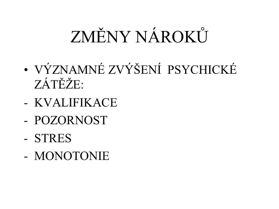 RIZIKOVÉ FAKTORY CHEMICKÉ: - RŮZNÉ INTOXIKACE (neuro-, nefro-, hemato-, hepato-, kardio-,…) - PNEUMOKONIÓZY - ALERGIE - NÁDORY - PORUCHY REPRODUKCE