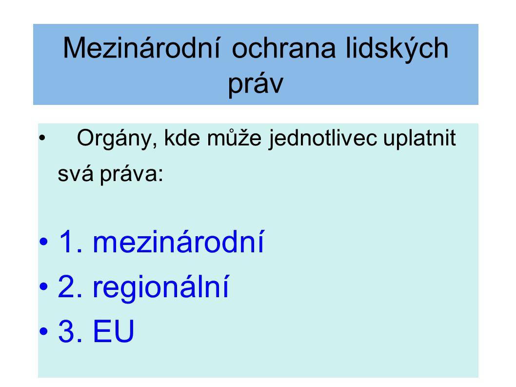 Přímá žaloba (čl.230 odst. 4) proti rozhodnutím nebo aktům přijatým orgány EU - 1 čl.