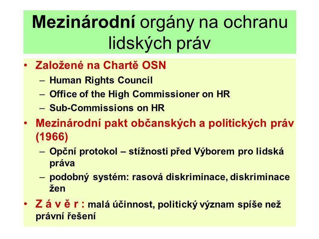 Evropský soudní dvůr: Judikatura o lidských právech - závěry Hlavní závěry ESD: Ochrana lidských práv je jednou z obecných zásad práva EU.