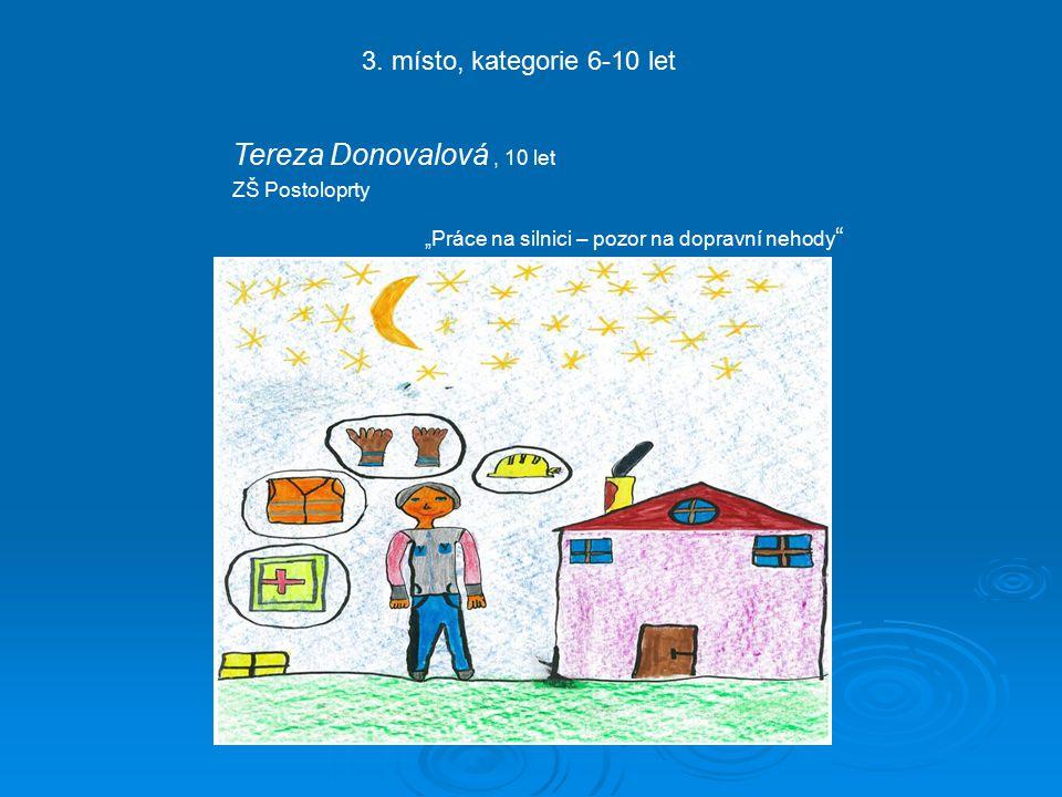 Tereza Donovalová, 10 let ZŠ Postoloprty 3.