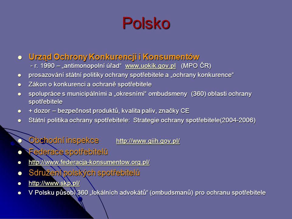 Polsko Urząd Ochrony Konkurencji i Konsumentów - r.