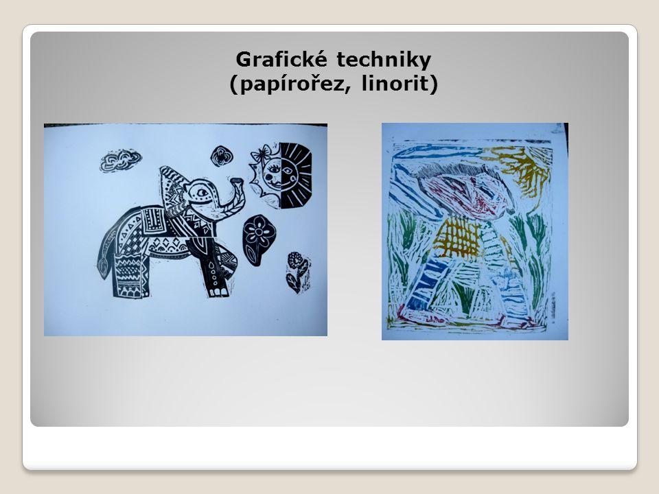 Grafické techniky (papírořez, linorit)