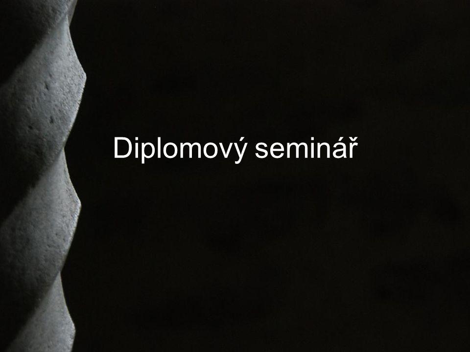 Diplomový seminář