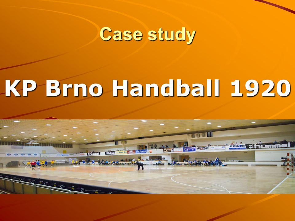 Case study KP Brno Handball 1920