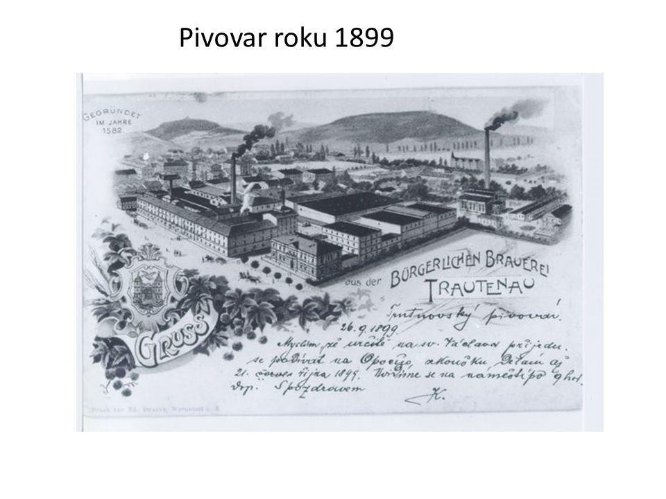 Pivovar roku 1899