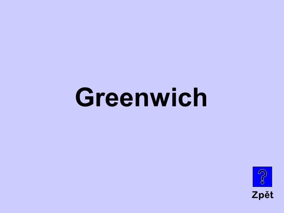 Zp ě t Greenwich