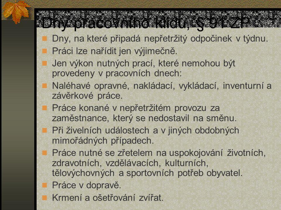Práce ve svátek Z.č.