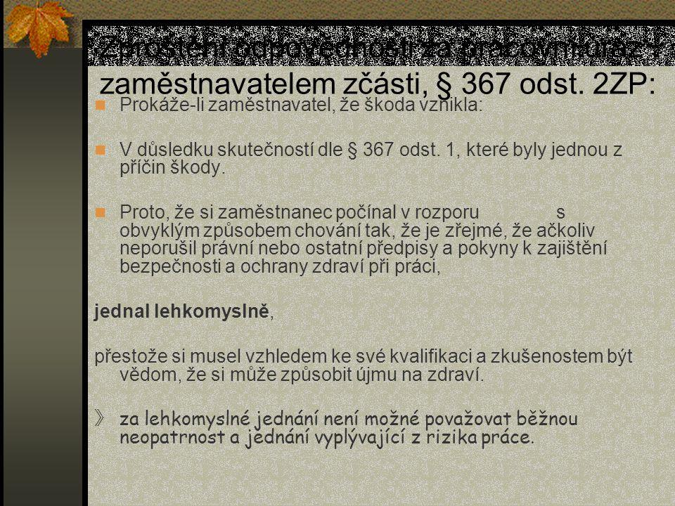Pojištění odpovědnosti zaměstnavatele za pracovní úrazy Vyhláška Ministerstva financí č.
