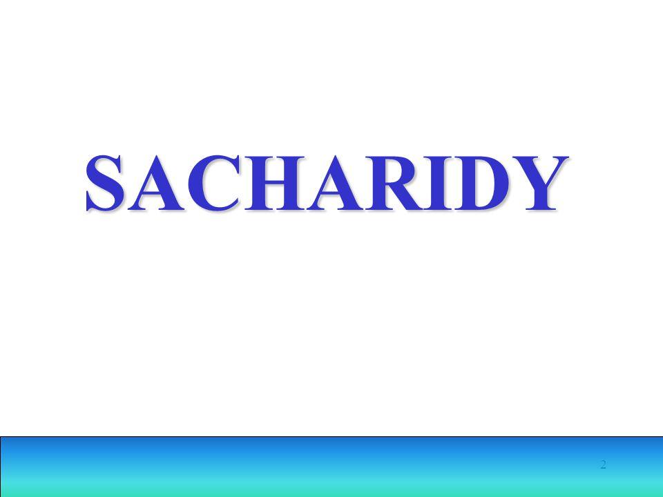 2 SACHARIDY