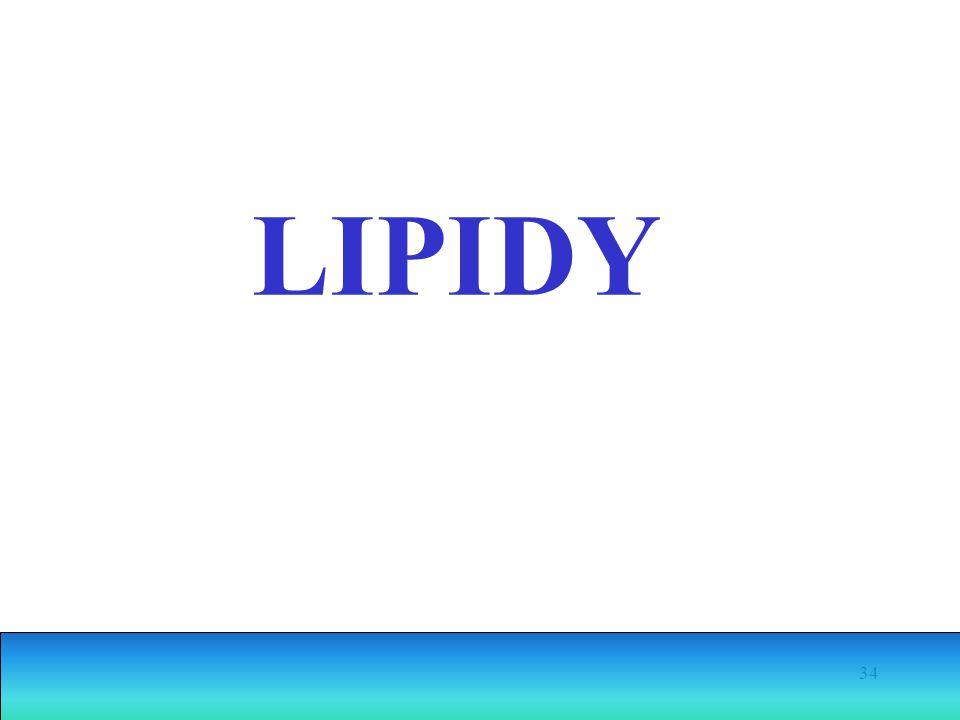 34 LIPIDY