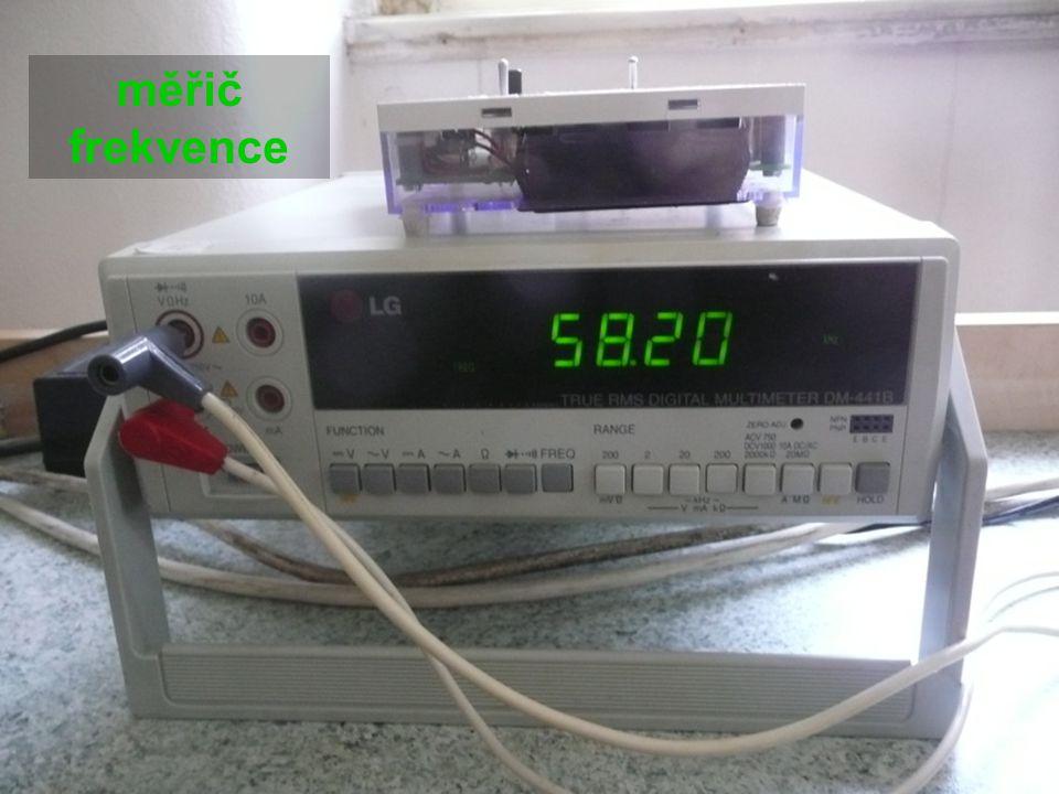 měřič frekvence