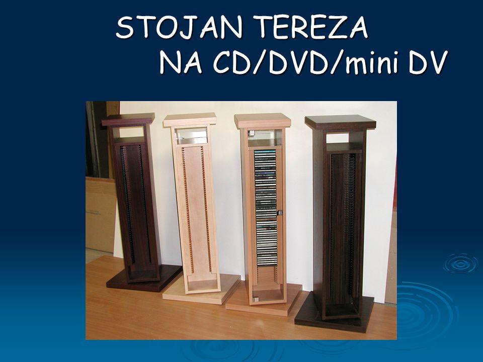Oboustranný otočný stojan na CD 60ks CD 60ks DVD 35ks DVD 35ks mini DV 40ks mini DV 40ks