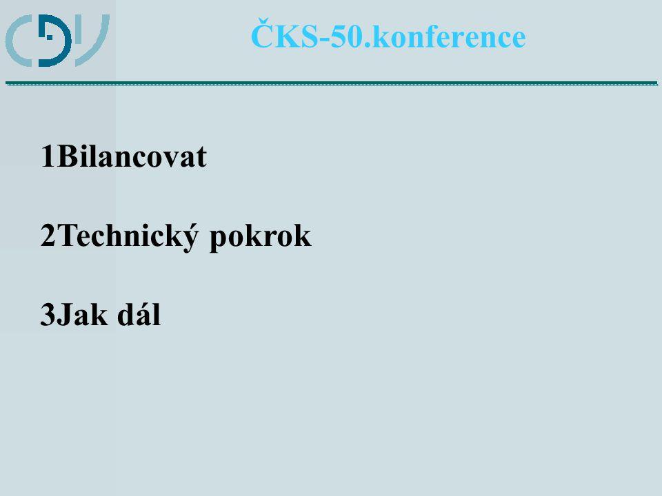 ČKS-50.konference Bilancování spolupráce v oblasti realizace požadavků vyplývajících z právních předpisů EU (nařízení (EHS) 3821/85, (EU) 165/2014, doporučení Komise ES 2009/60/ES) ČR (zákon 111/1994 Sb., vyhláška 478/2000 Sb.